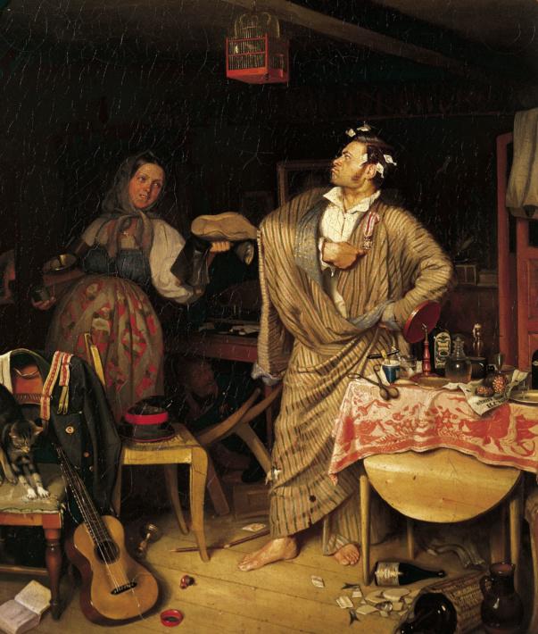 Russian art, Fedotov