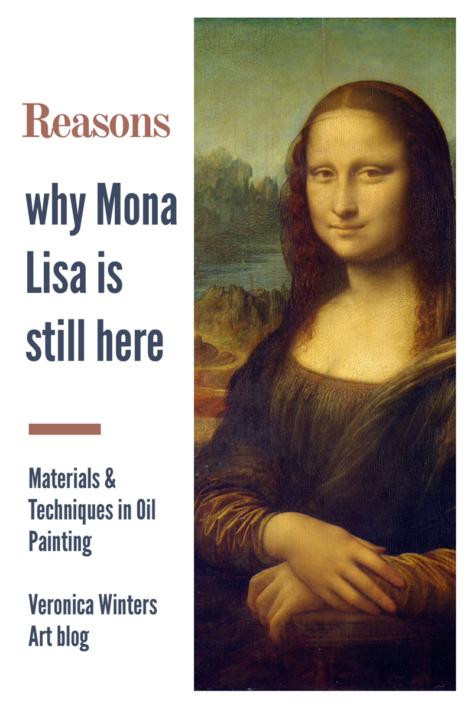 mona lisa art supplies, how to take care of art