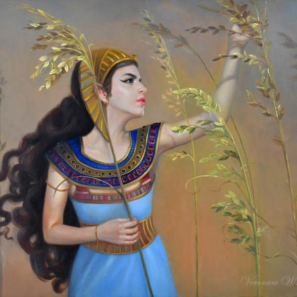 Cleopatra iconic women painting