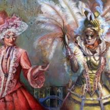 Venetian mystical key, masquerade