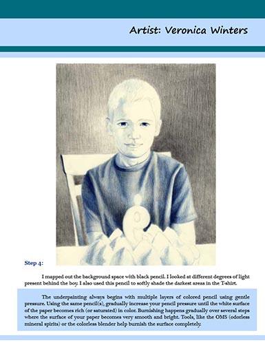 how to draw a portrait tutorial