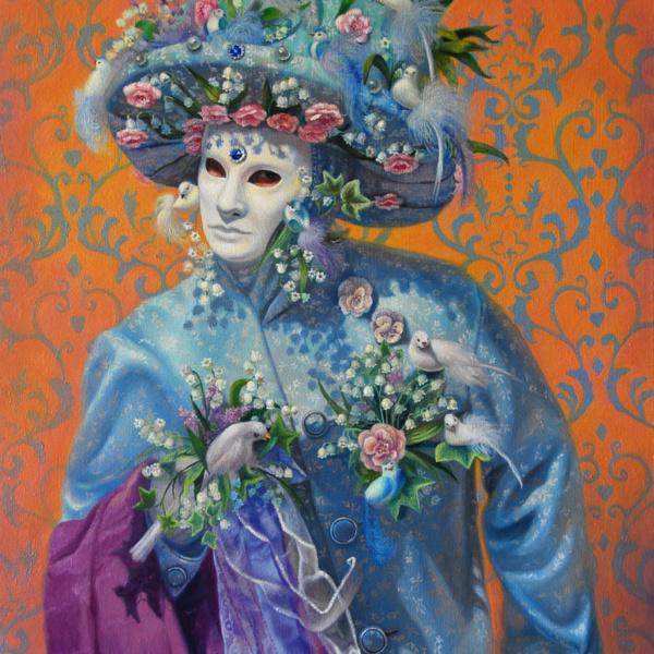 tenderness oil painting