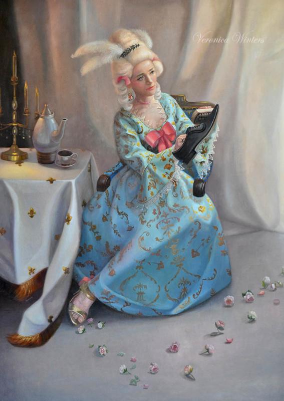 Marie Antoinette Veronica Winters Romantic Paintings Of
