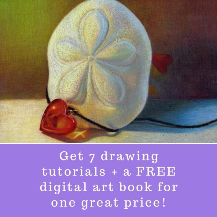 7 drawing tutorials special free digital art book veronica winters