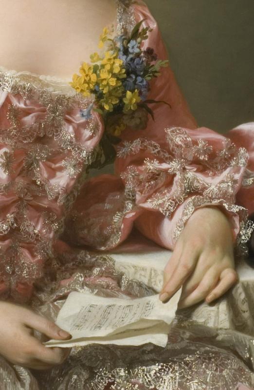 Alexander Roslin: Marie Suzanne Giroust, 1734-1772, konstnär, gift