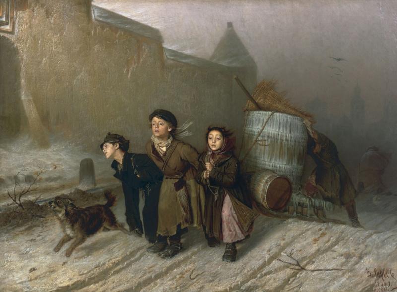 Russian painting vasili perov