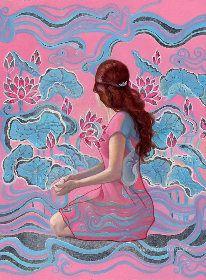 romantic paintings of women popsurrealism