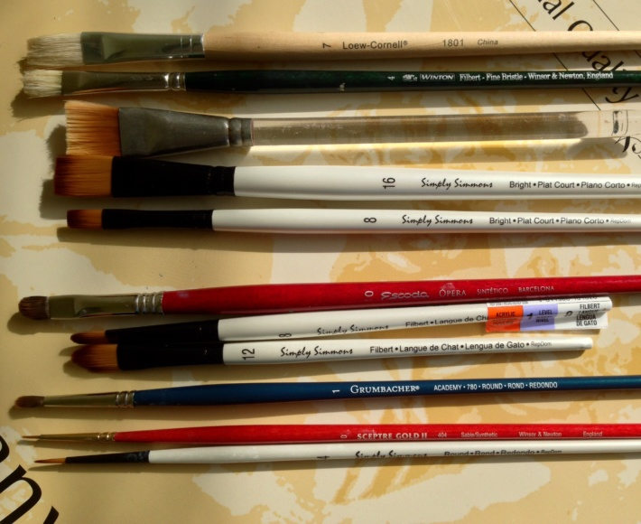Best Affordable Brushes For Oil Acrylic Painting