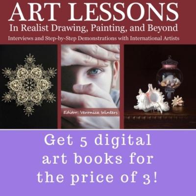 Art Instruction Books Veronica Winters Romantic Paintings Of Women
