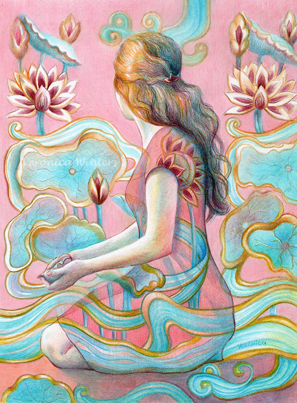 Colored Pencil Techniques Veronica Winters Romantic